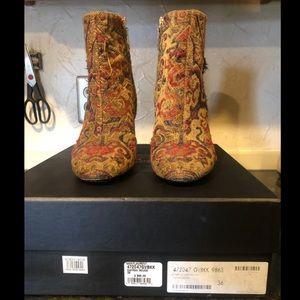 Tapestry Saint Laurent Boots
